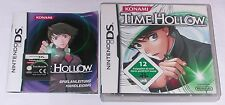 Gioco: time Hollow per Nintendo DS Lite + + + DSi XL + 3ds 2ds