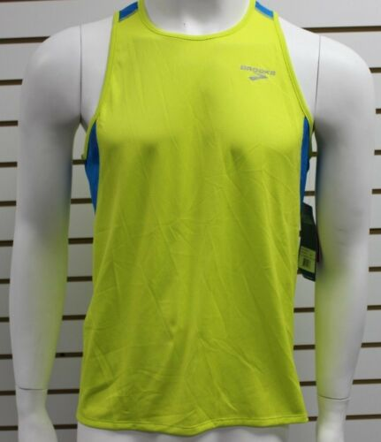Brooks Men/'s Equilibrium Technology Infiniti D-Lite Singlet Sulphur L210379706