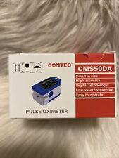 Contec Pulse Oximeter Cms50da New In Box Finger Oxygen Free Shipping Us