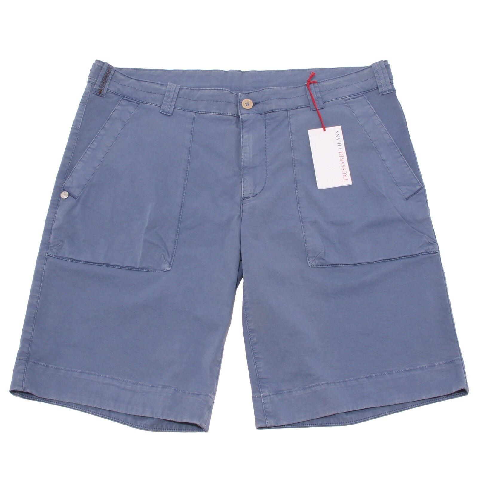 9624P  bermuda TRUSSARDI JEANS azzurro pantalone corto   9624P short Hommes  e00f0a