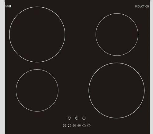 Piano Cottura Vetro Ceramica Cottura Induzione campo Induzione Autosufficiente 60 cm ristagno