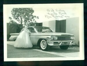 Details about 1960 Oldsmobile Super 88 Mrs  America Lynda Lee Mead Auto  Show Photograph look