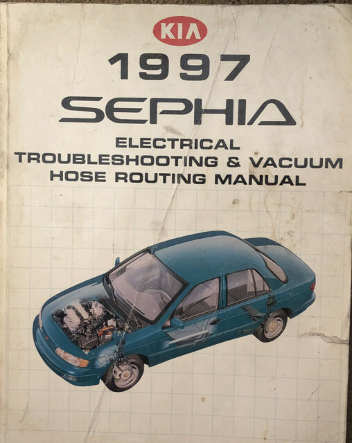 1997 Kia Sephia Electrical Troubleshooting Manual Wiring