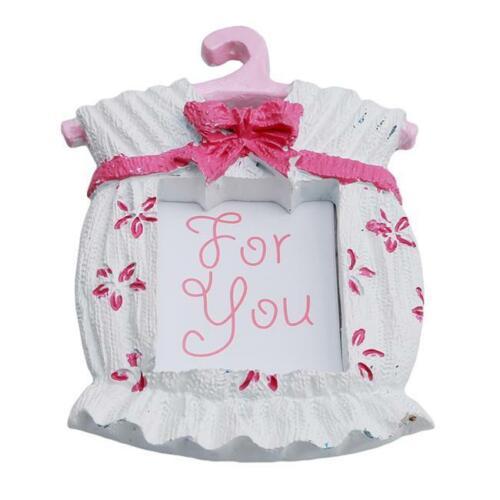 Girls Dress Frame Baby Boy Baby Shower Favor  Place Card// Photo Kid Gift BL3
