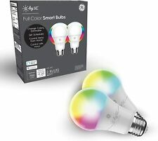 C by GE - Full Color A-19 2-pack - Smart App Controlled White