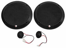 "Rockford Fosgate P1675-S Punch 6.75"" 240 Watt 2-Way Car Audio Component Speakers"