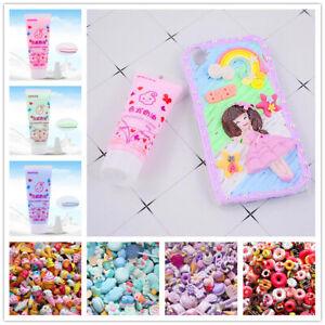 50g Fake Whipped Cream Clay DIY Cute Kawaii Cupcake Cell Phone Case Deco Den