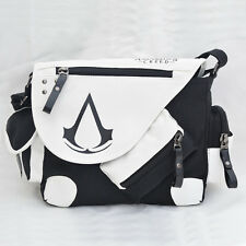 Assassin's Creed III Desmond Milesleather Shoulder Messenger Bag Anime Gift