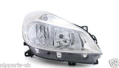 RENAULT CLIO 2005-2009 HEADLIGHT HEADLAMP RH RIGHT OFF SIDE DRIVER SIDE