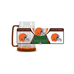 f0ff954f Details about Brand New NFL Cleveland Browns 16oz Crystal Freezer Mug by  Duck House Sports