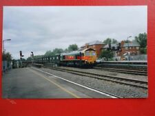 PHOTO  FREIGHTLINER CLASS 66 LOCO NO 66546 AT OXFORD 2004