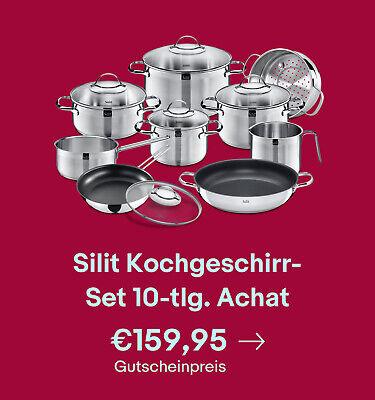 Silit Kochgeschirr-Set 10-tlg. Achat
