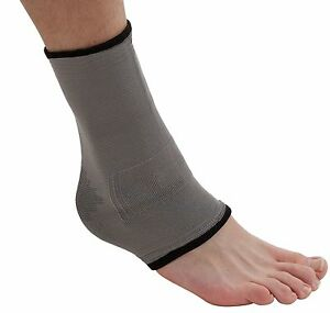 168fcd3a1f Image is loading Bamboo-Ankle-Support-Sleeve-for-Injury-Pain-Sprain-