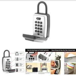 Master Lock 5422D 7.9 cu in. Set Your Own Combination Portable Push Button Lock