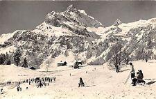 BR7311 Braunwald Ubungsfeld der Skischule mit Ortsock  switzerland