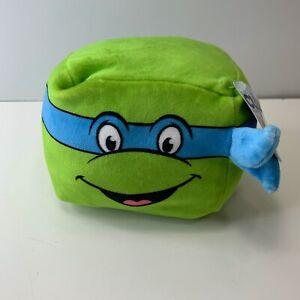 Leo (Leonardo) Cubd DA COLLEZIONE, NUOVI, Peluche Cubo, Teenage Mutant Ninja Turtle