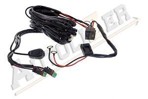 off road led light bar on off power switch 40 amp relay wiring rh ebay com