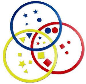 Magnetic-Sorting-Circles-10-034-Diameter-Set-of-111-school-attributes-Venn-Diagram