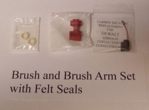 Brosse de remplacement brosse et pinceau bras avec feutre Seals DeWalt D28110-112 28402//DWE46151