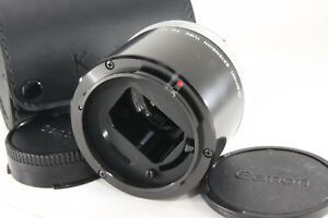 Canon-Extension-Tube-FD-50-For-Canon-FD-Excellnet-w-3rd-party-case-Japan