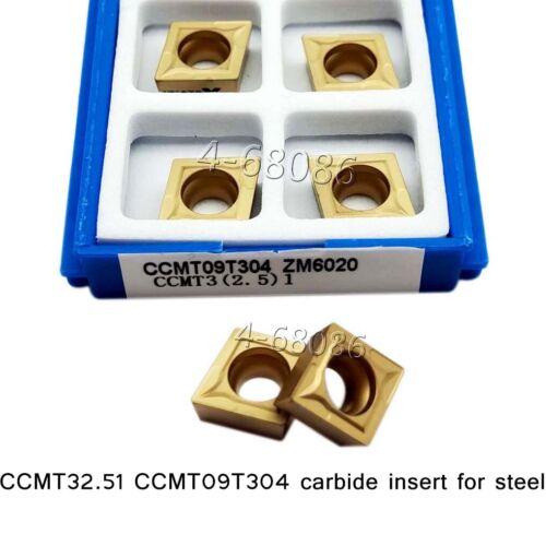 CCMT32.51 CCMT09T304 R0.4carbide Insert lathe turning Tool steel dedicated SCMCN