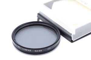 Original-Hoya-Pol-Filter-linear-Drehfassung-E52-52mm-Polarizing-Filter