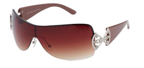 Occhiali da sole da donna con grande panorama vetro-disponibile in diversi colori