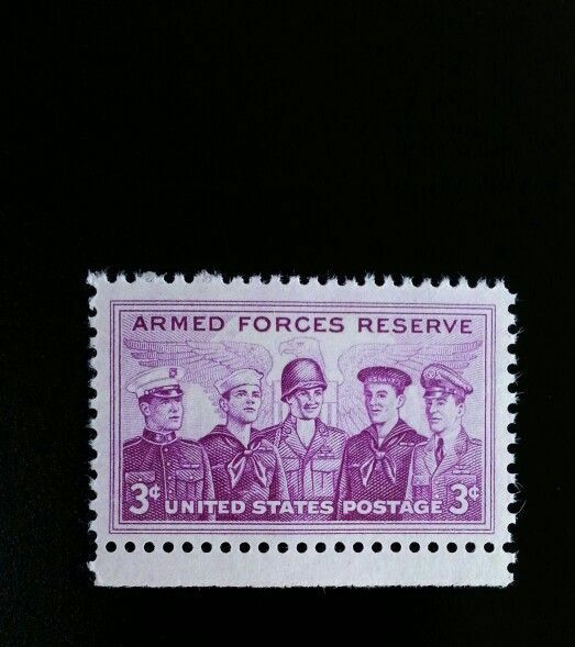 1955 3c Armed Forces Reserve Scott 1067 Mint F/VF NH