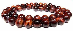 Rotes-Tigerauge-Perlen-Kugeln-8-mm-Edelsteinperlen-fuer-Kette-Armband