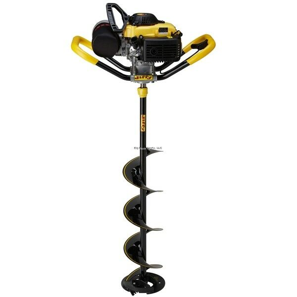 New Jiffy Pro4 X-Treme Propane Powered Ice Drill with 9  Stealth STX 46-09-ALL