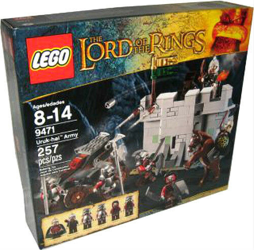 Sealed LEGO The Lord of the Rings 9471 Uruk-hai Army NEW Free shipping RARE SET