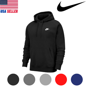 Nike Men's Sportswear BV2654 Embroidered Fleece Gym Active Pullover Hoodie S-XL