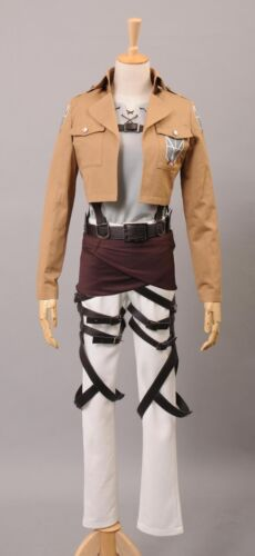 Shingeki no Kyojin Attack on Titan Eren Jäger Unifrom Anime Cosplay Costume