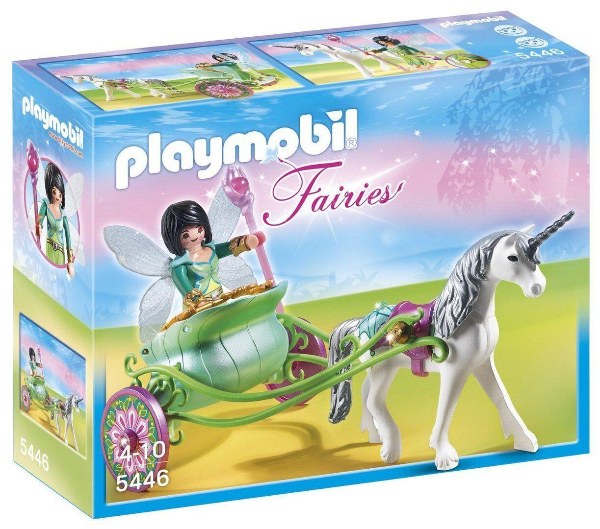 Playmobil 5446 - Carruaje con Unicornio con Hada Mariposa - NUEVO