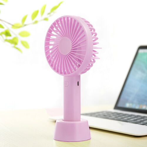 Ventilatore portatile USB /& Batterie a duplice uso MINI VENTILATORE ELETTRICO SILENT FAN Desktop Outdoor