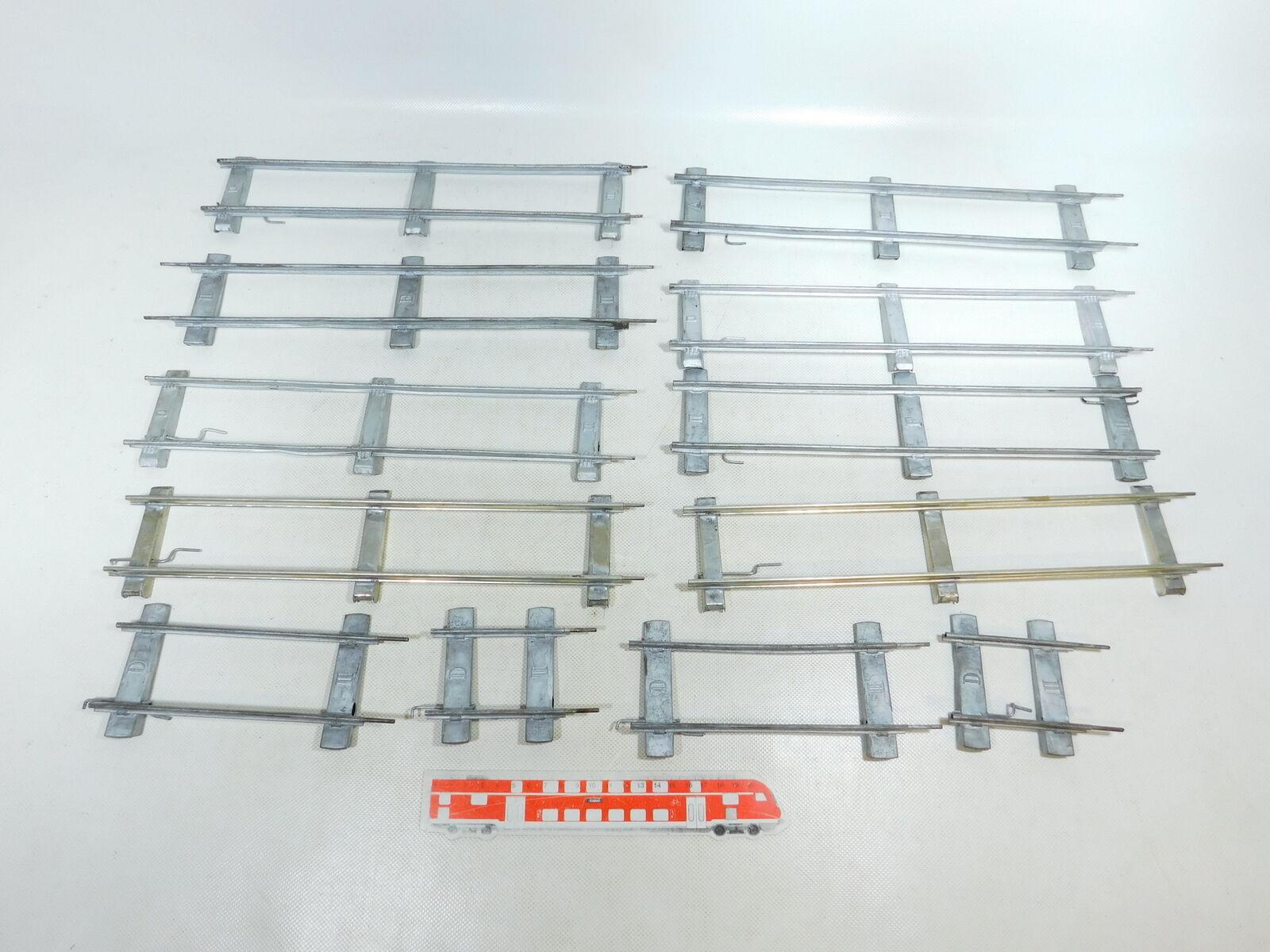 Bw277-2  12x planos inclinados umbral-vía para reloj-explotación (aprox. 50 mm ancho de vía)