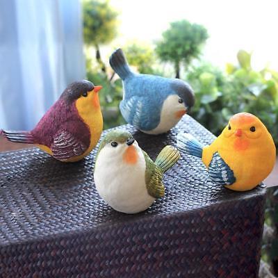 Resin birds Statue Figurine Model Indoor Outdoor garden decor ornament #7