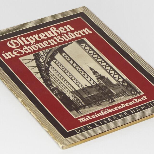 East Prussia German Photo Book 1930s in 46 photos 1 map, Konigsberg Ostpreussen