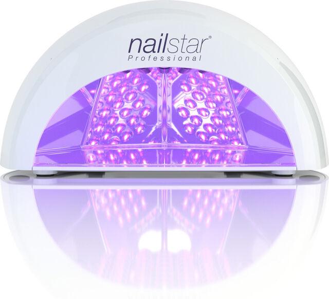 Nailstar ® Profesional LED Lámpara Secador de uñas y uñas para gel con temporizadores 4 X