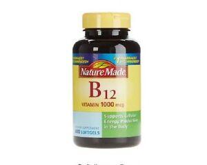 Nature Made Vitamin B12 1000 Mcg. 400 Softgels