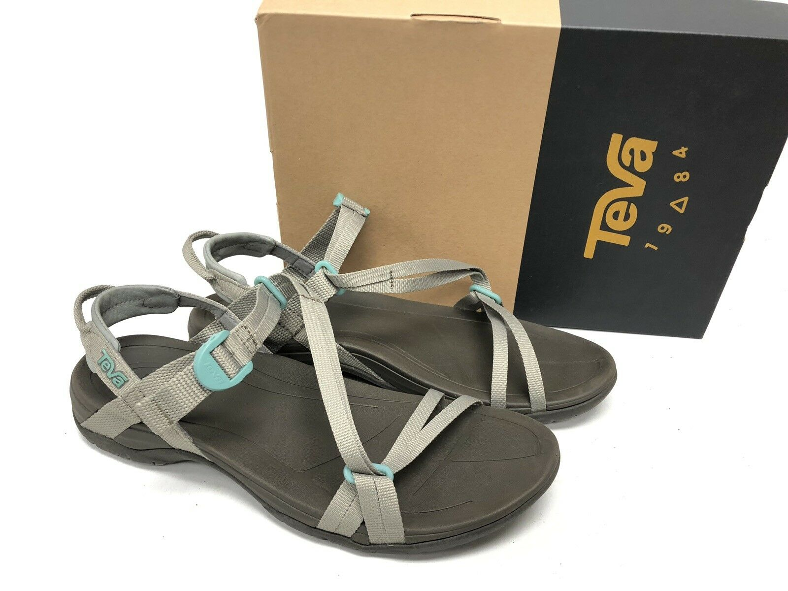 Teva Sirra desierto Sage Sandalia Zapato De Senderismo Correas de cruce de mujer 1019240