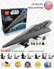 Super Star Destroyer Star Wars 10221 UCS 05028 New Custom Block Set 3208 Pcs