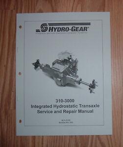 CUB CADET GT1222 GT1554 HYDRO TRANSMISSION SERVICE MANUAL | eBay