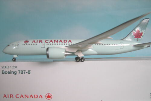 Herpa Wings Katalog Hogan Wings 1:200 Boeing 787-8  Air Canada LI4821GR