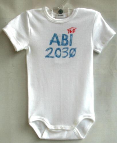 "Sanetta BABY-Body 1//2 bras blanc /""Abi 2030/"" taille 68 prix recommandé 9,95 €"