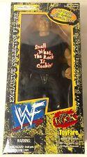 WWF WWE THE ROCK Wrestlemania Wizards Toyfare Jakks Pacific 1999 NIB