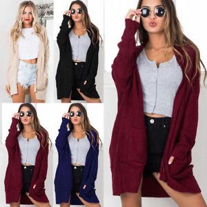 Women-Long-Sleeve-Knitted-Cardigan-Loose-Casual-Sweater-Outwear-Jacket-Coat-Tops