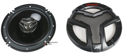 "JVC CS-V628 6.5/"" 2-Way 250W 4 Ohm Max Front /& Rear Door Speakers"