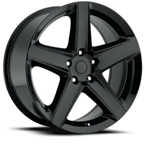 Details about 4) 20X10 Jeep SRT WK1 Style Gloss Black Fits 11-19 Jeep Grand  Cherokee Wheel Rim