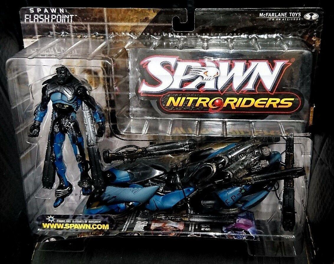 Spawn Series 16 Nitroriders FLASH POINT McFarlane Toys New  6
